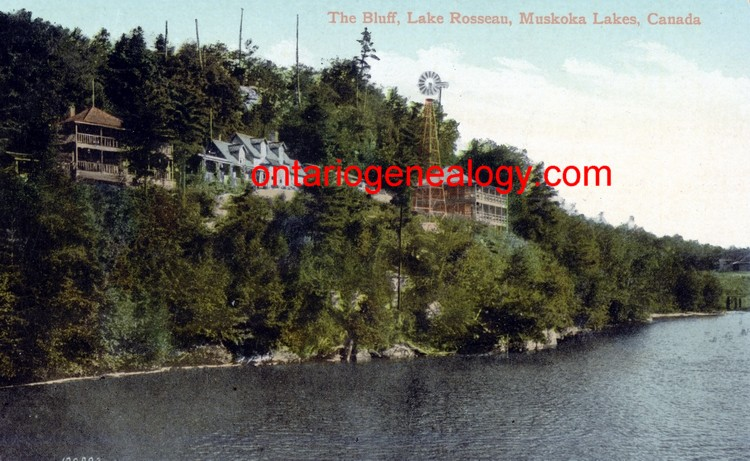 Lake Rosseau The Bluff
